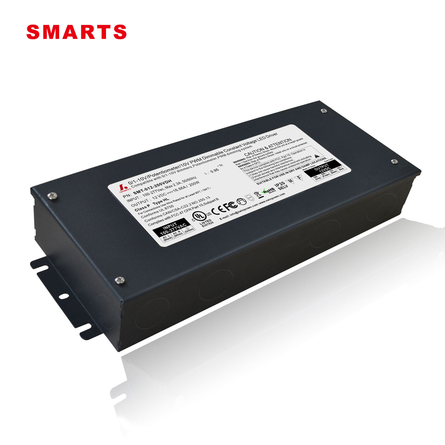 200w dimmable led power supply