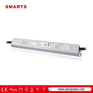 SAA listed 12vdc 36w triac dimmable waterproof led driver