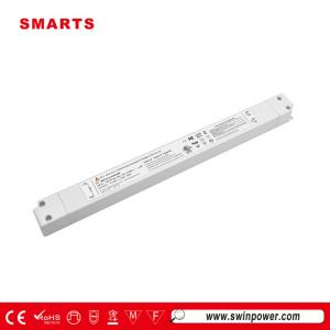 110-277VAC slim size 0-10v dimmable led driver