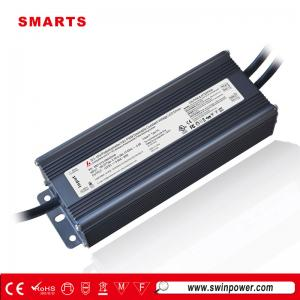 UL listed 0-10v 12v 80w led driver