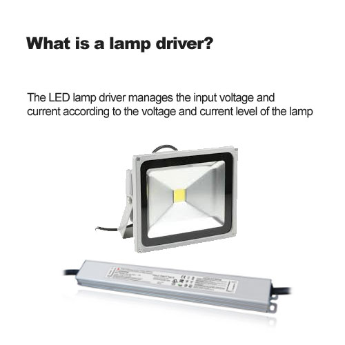 What is a lamp driver?