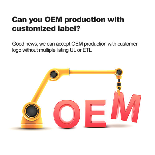 Can you OEM production with customized label?