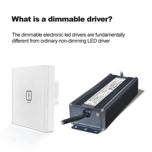 What is a dimmable driver?