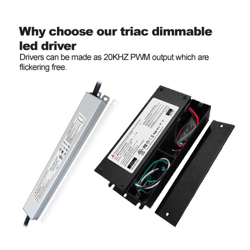 Why choose our triac dimmable led driver