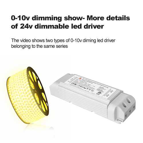 0-10v dimming show- More details of 24v dimmable led driver