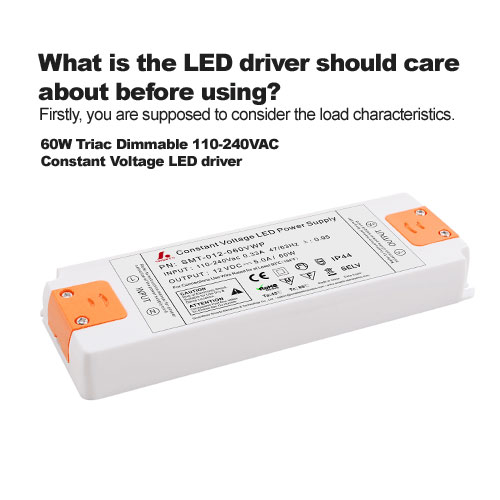 What is the LED driver should care about before using?